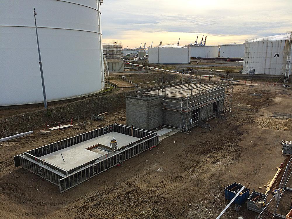 Bâtiment technique le Havre (76)