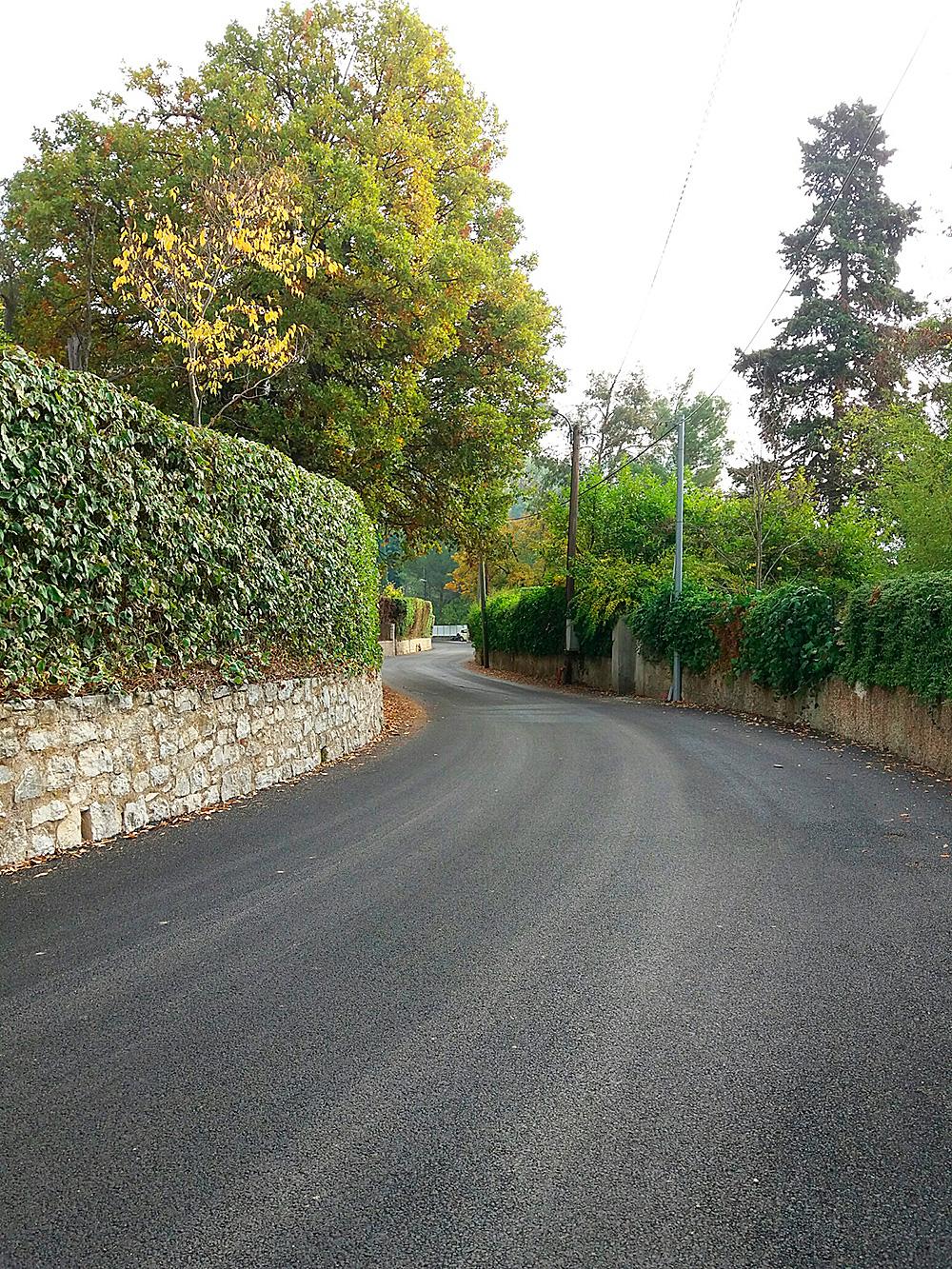 Chemin des Fumerates Saint-Paul de Vence (06)