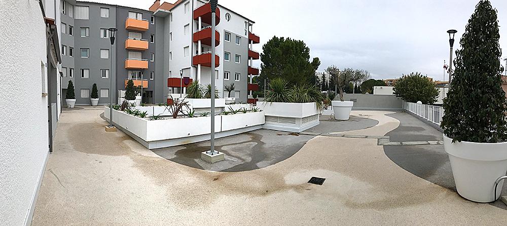 Résidence Puech argent Montpellier (34)