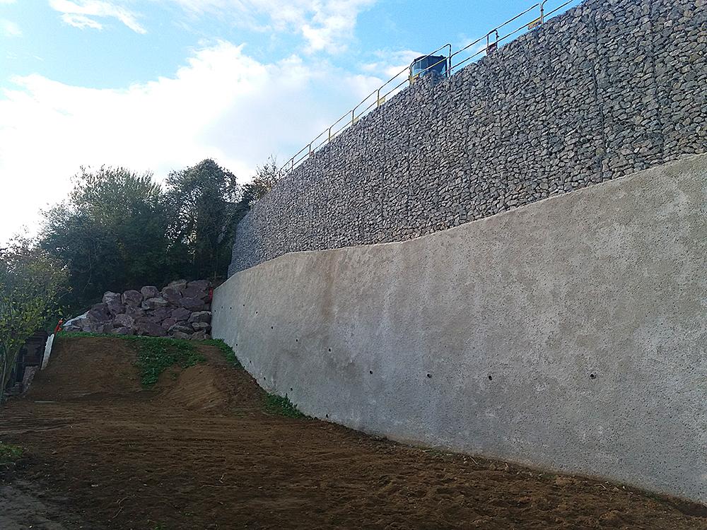 Mur de soutènement Le-Havre (76)